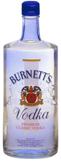 Burnett's Vodka 80@ 1.00l